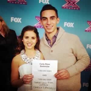 Did you vote for Carly Rose Sonenclar?