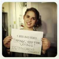 Carly Rose Sonenclar on Xfactor